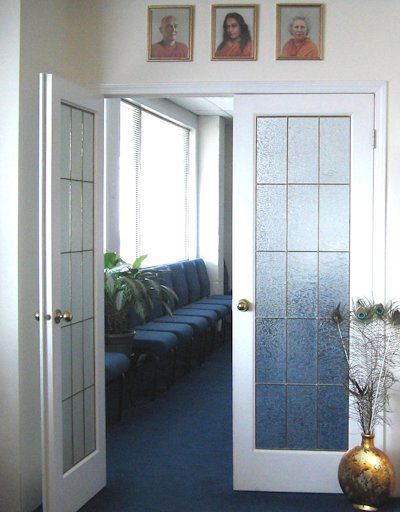 Entrance to our meditation chapel