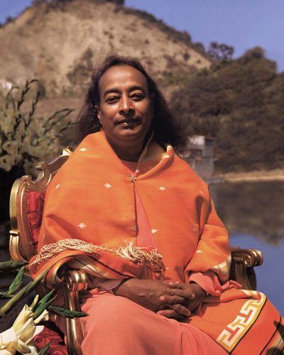 Paramahansa Yogananda at the Lake Shrine